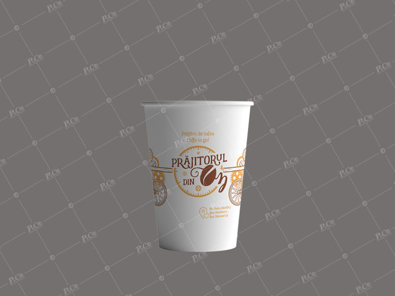 Pahare din carton personalizate